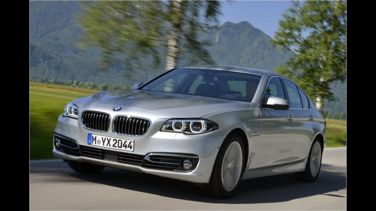 BMW 5er gegen Mercedes E-Klasse