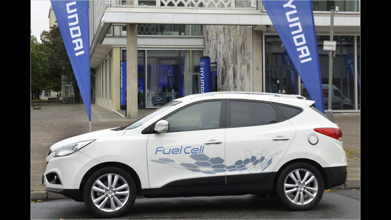 Flop: Hyundai ix35 Fuel Cell
