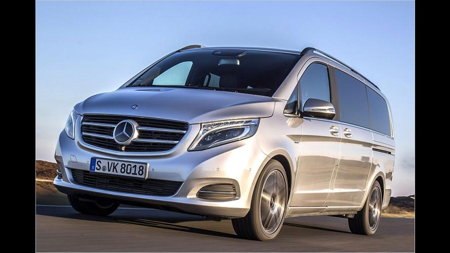 Mercedes V-Klasse (2014) im Test: Die verfeinerte Nutz-Kiste