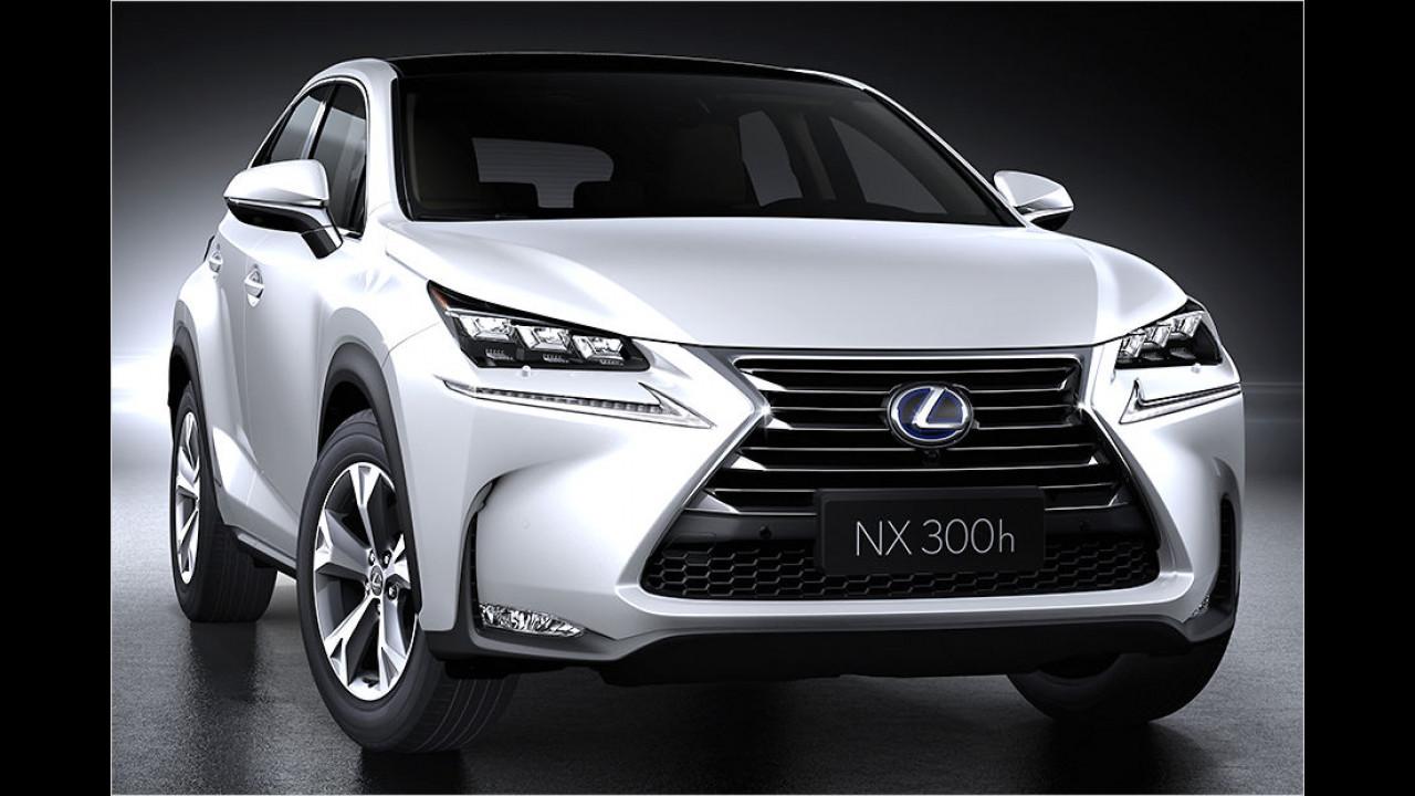 Lexus NX: Scharfes Teil