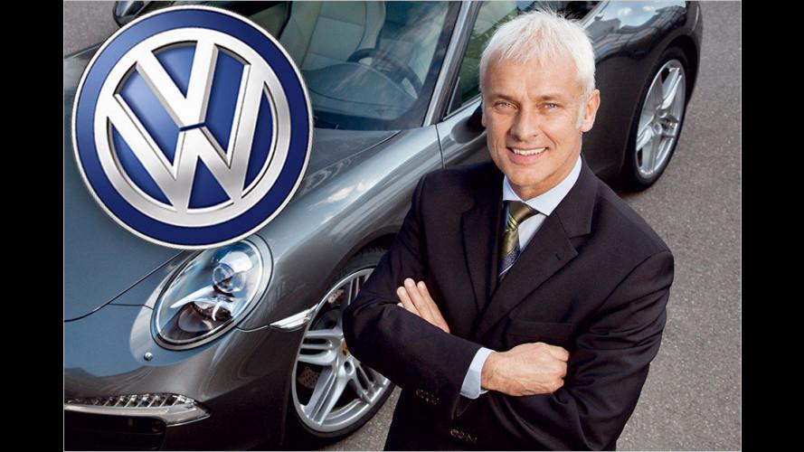 VW informiert Mitarbeiter, Kommunen und Kunden