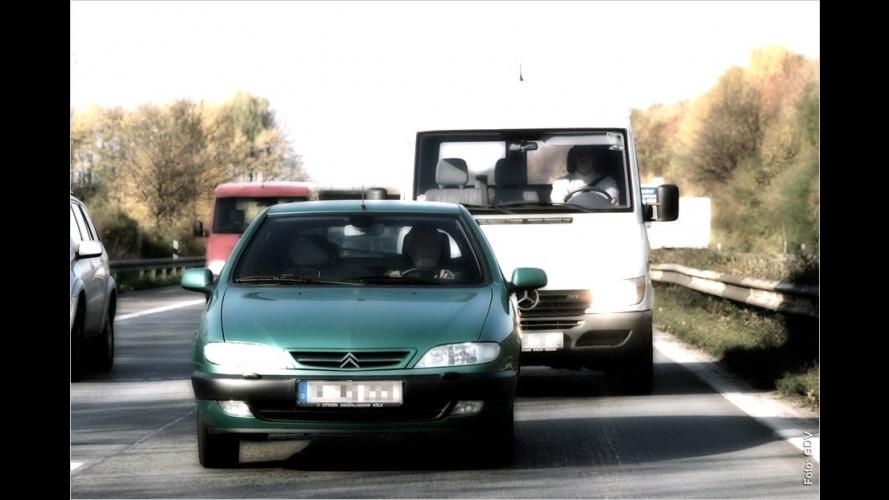 Drängler, Schleicher, Linksfahrer