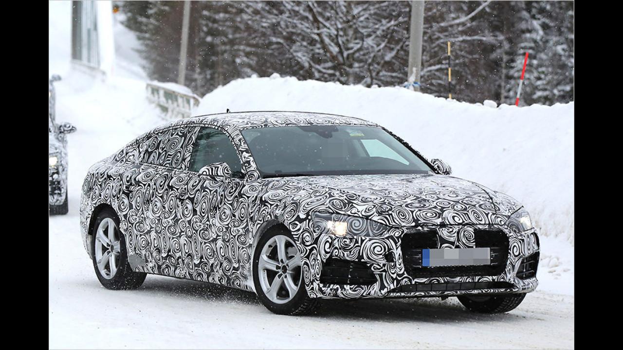 Der neue Audi A5 rückt näher