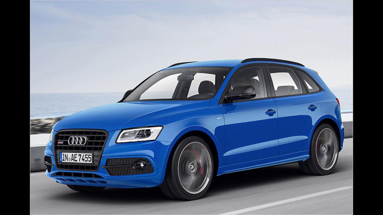 Audi SQ5 TDI competition: 5,1 Sekunden