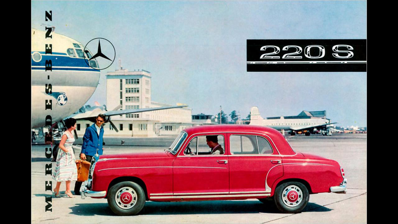 Mercedes 220 S (1954)