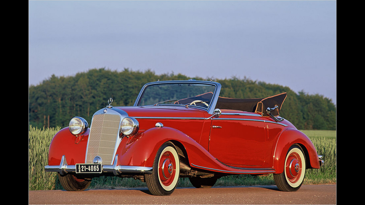 Mercedes 170 S Cabriolet A (1949)