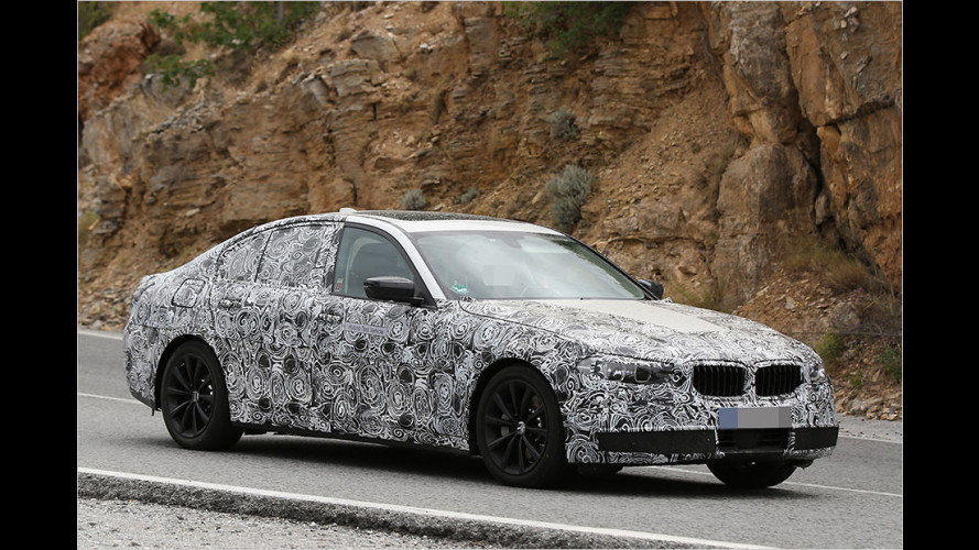 Erwischt: BMW 5er