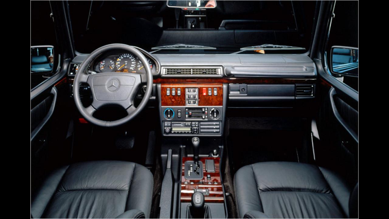 35 Jahre G-Klasse: Der Innenraum der 90er