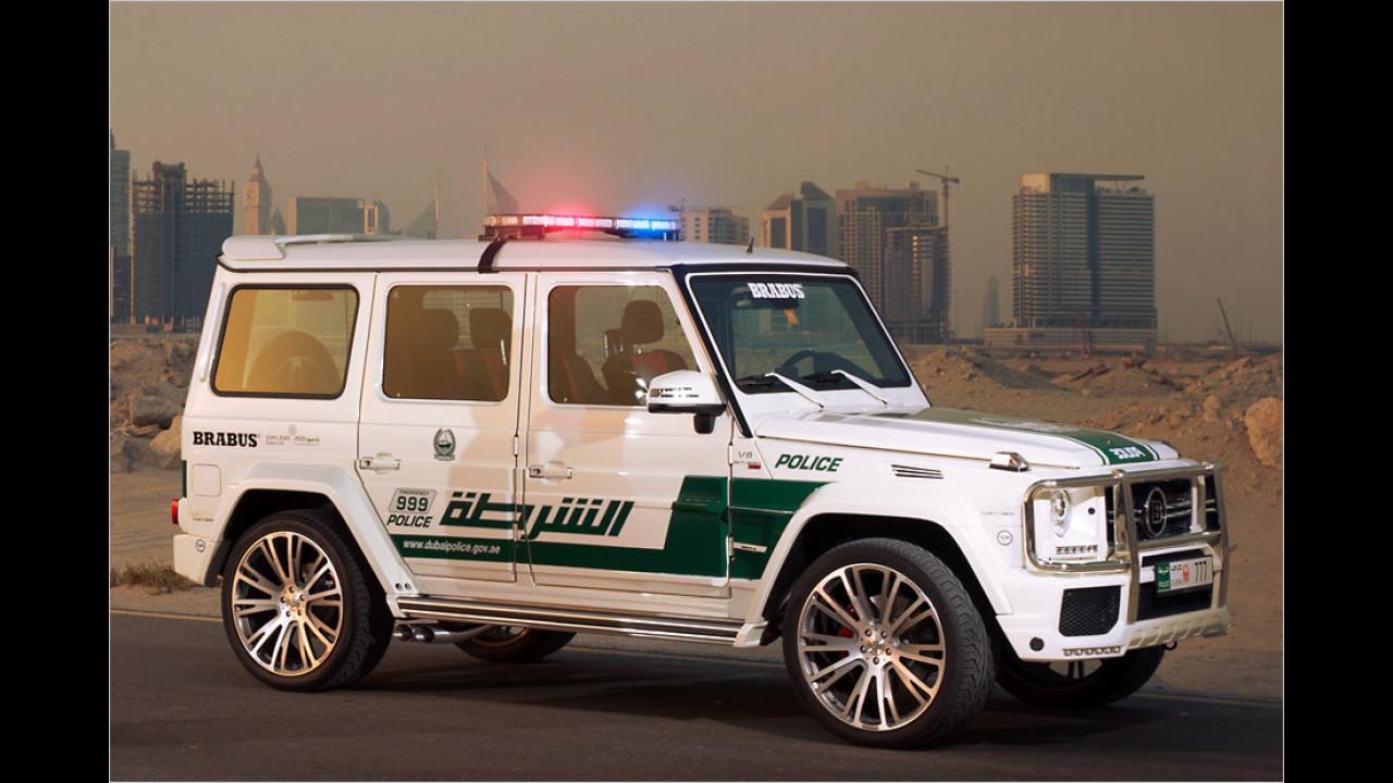 Brabus B63S-700 Widestar Dubai Police