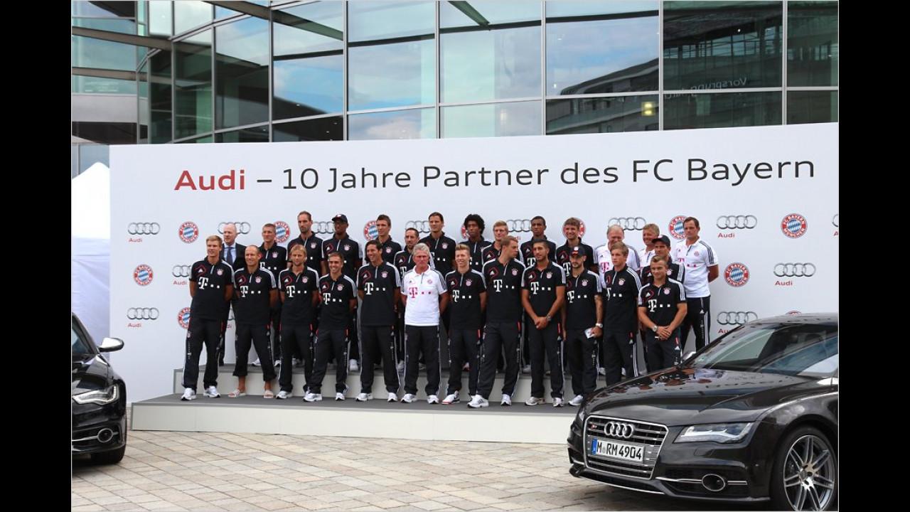 FC Bayern München: Audi