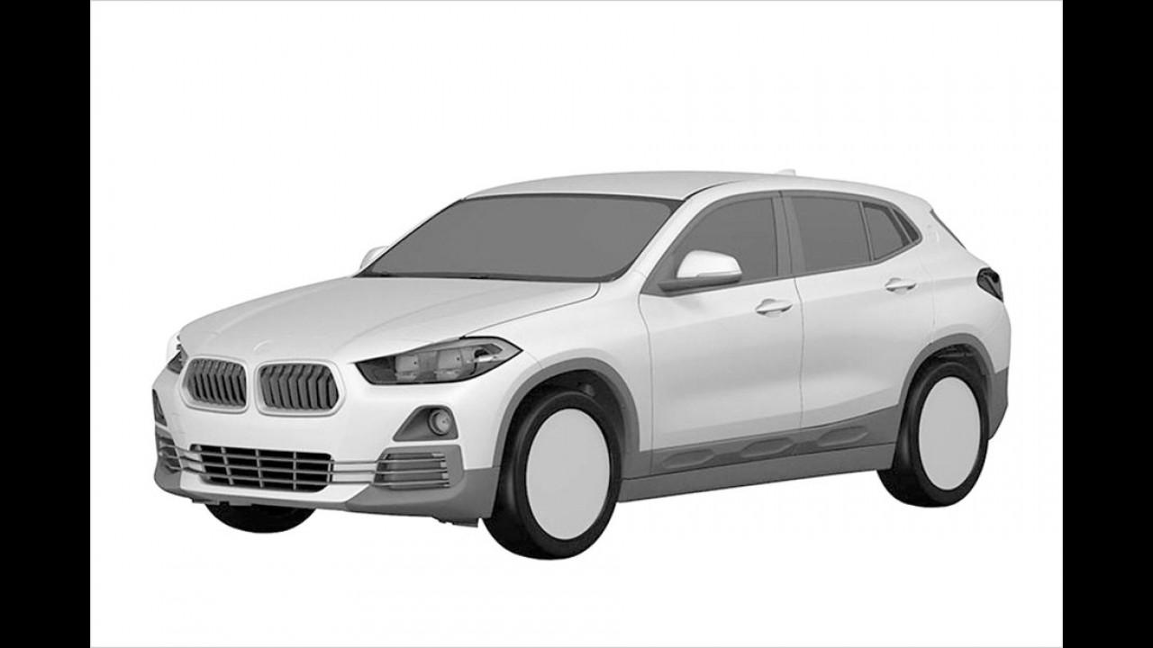 Patentzeichnung enthüllt BMW X2