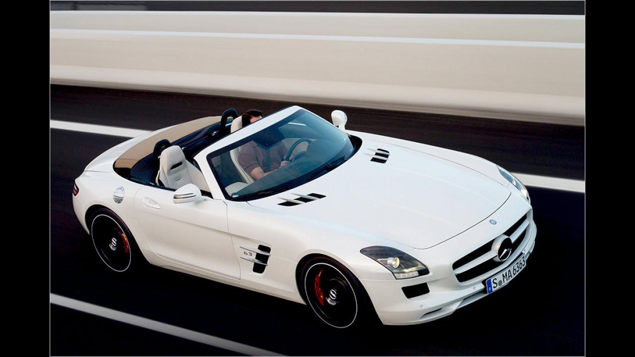 Mercedes SLS AMG: 317 km/h