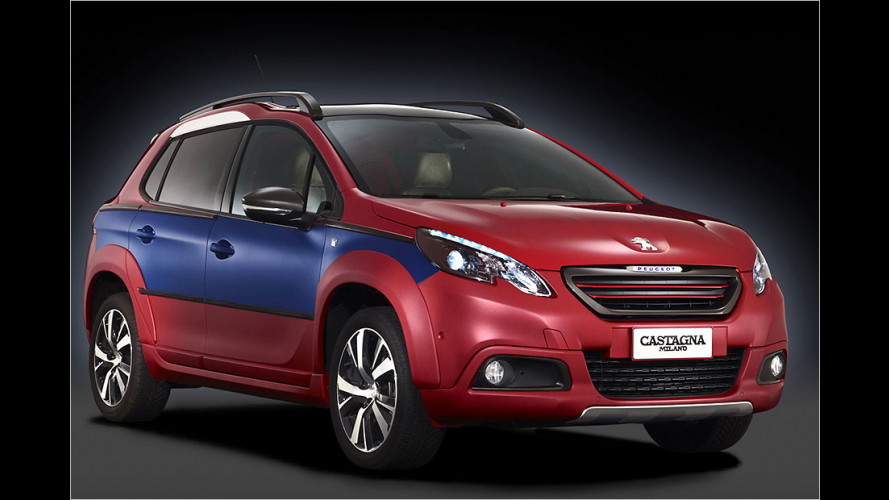 Castagna macht den Peugeot 2008 zum edlen Unikat