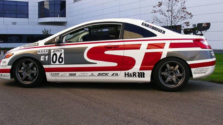 Honda Civic Si Sport Concept And Ridgeline Street Sport At Sema