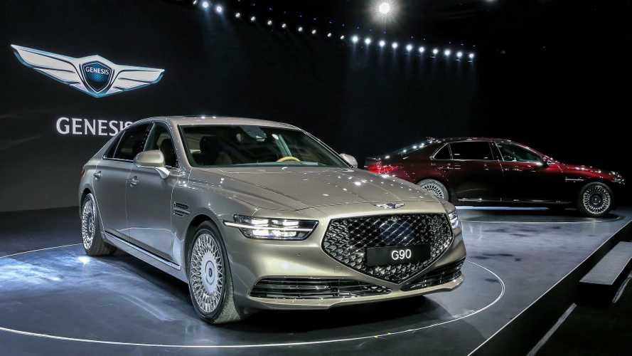 2020 Genesis G90 To Make U.S. Debut At Los Angeles Auto Show
