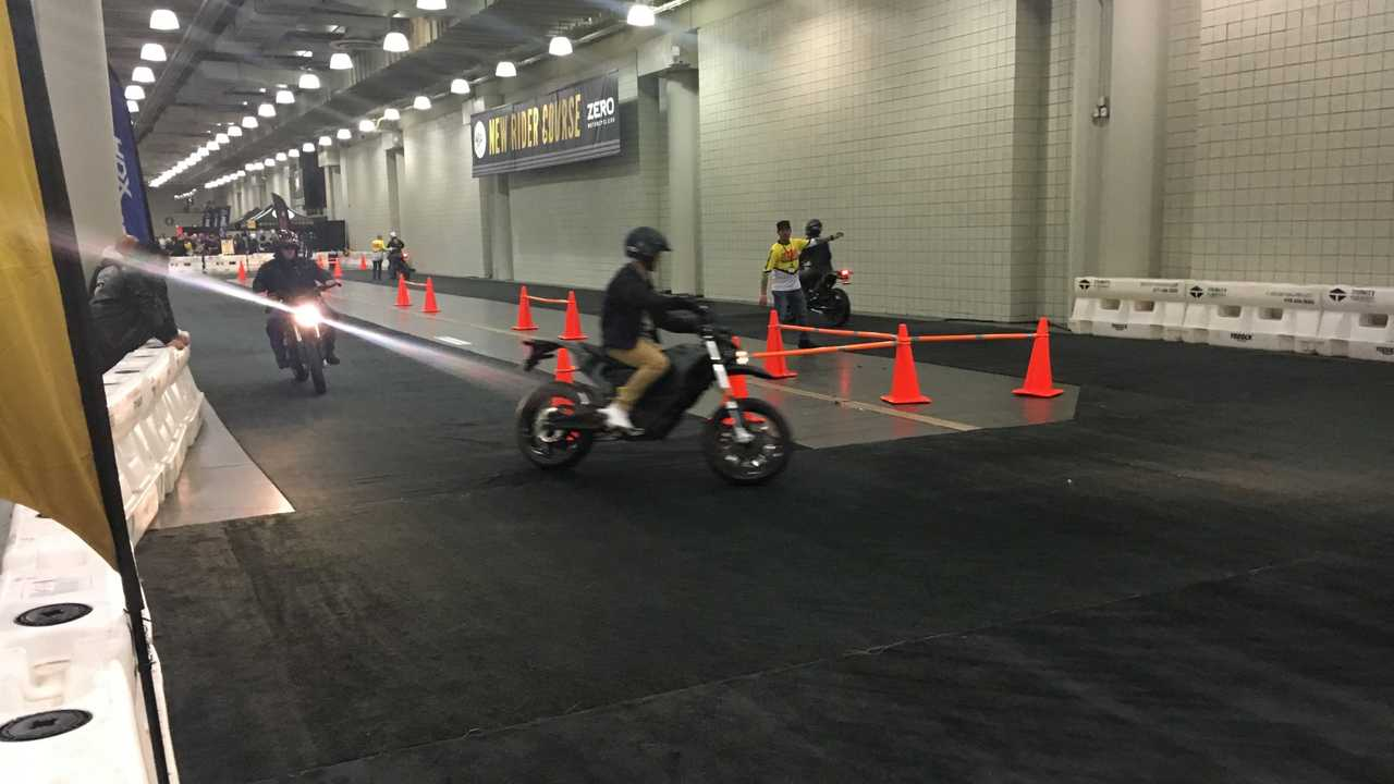Zero Motorcycles New Rider Course At IMS