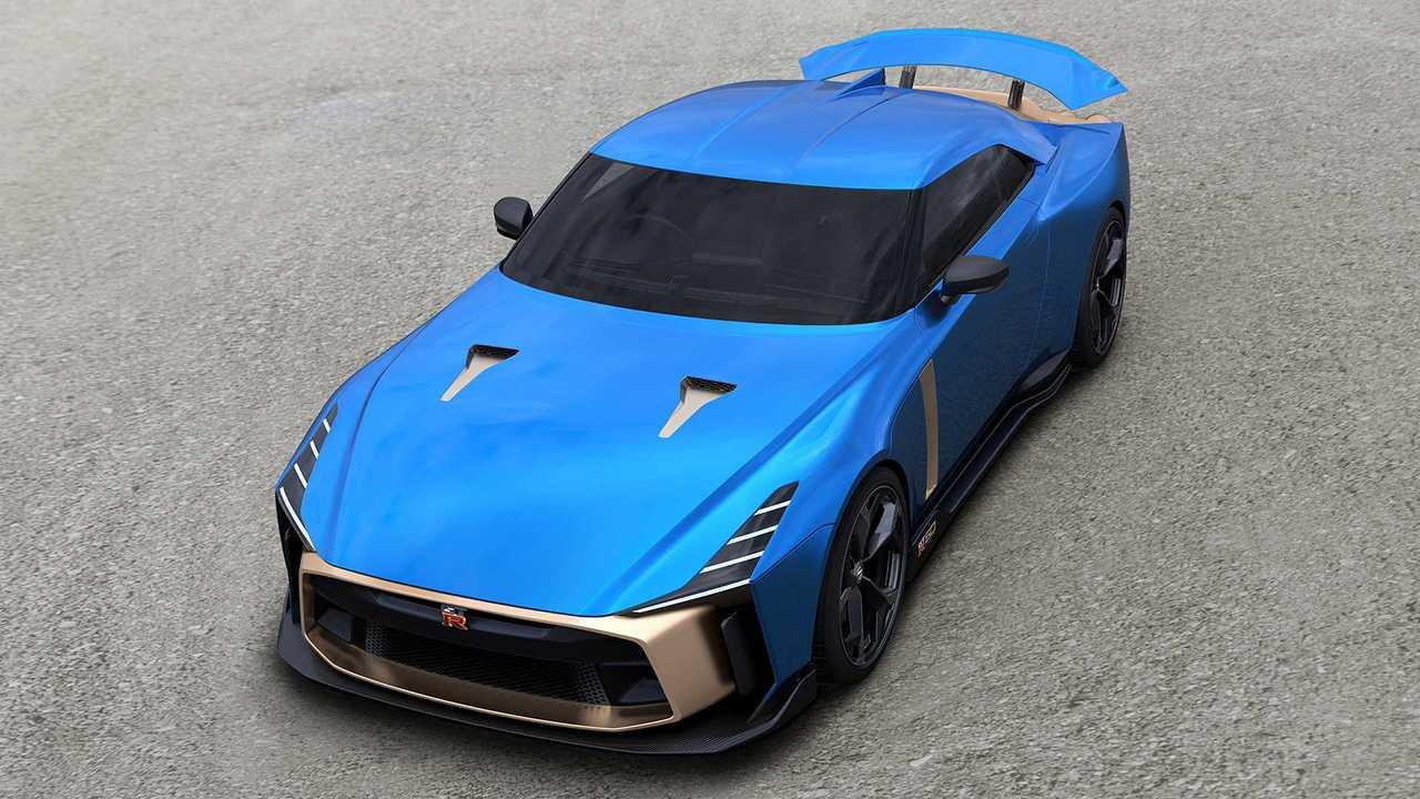 Nissan GT-R50 by Italdesign, la versione di serie