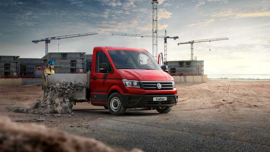 Volkswagen Crafter da pick up oldu