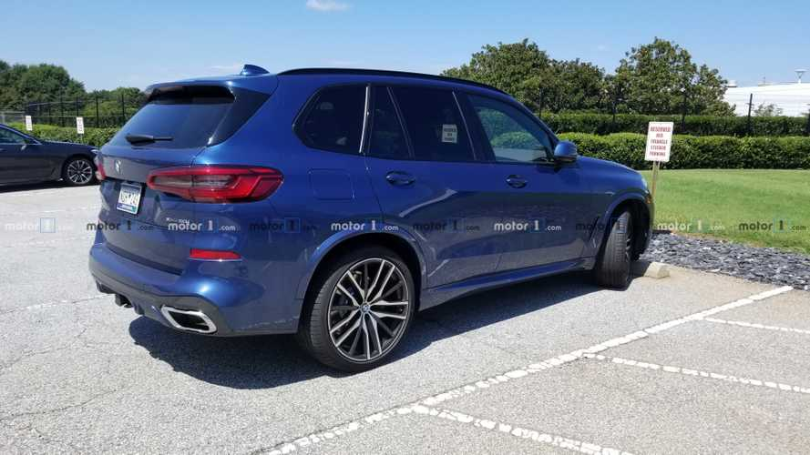 2019 BMW X5 M50i Caught By Motor1.com Reader
