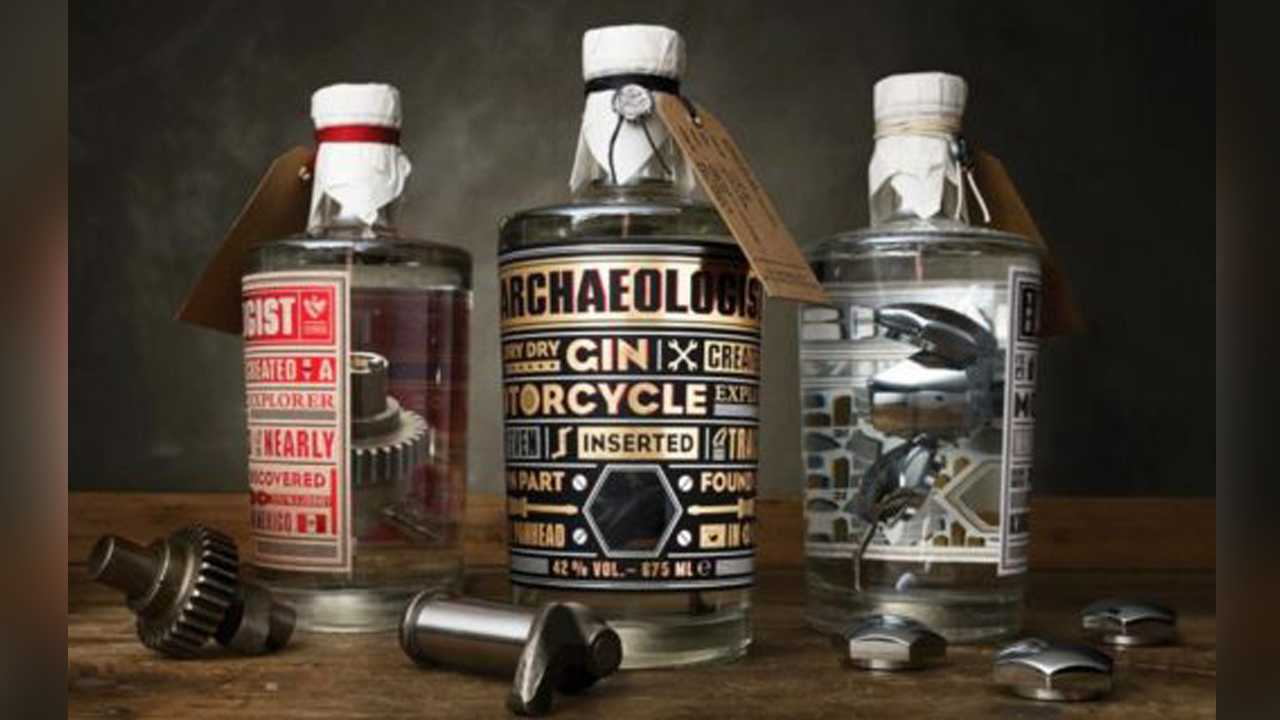 Harley-Davidson Parts-Infused Gin