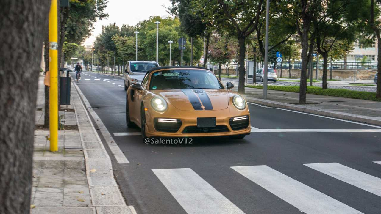Porsche 911 Turbo S Série Exclusive Cabrio