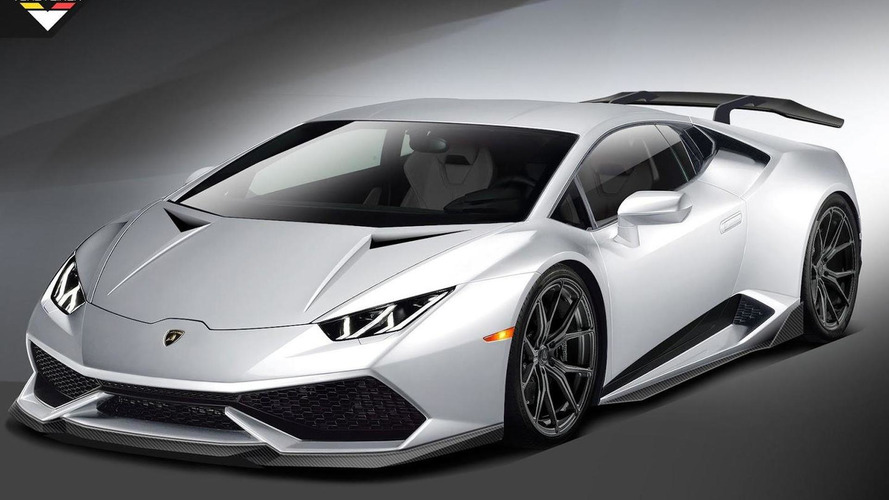 Vorsteiner previews Lamborghini Huracan tuning project