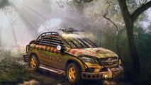 Mercedes-Benz GLE 450 AMG Sport Coupe Jurassic World render