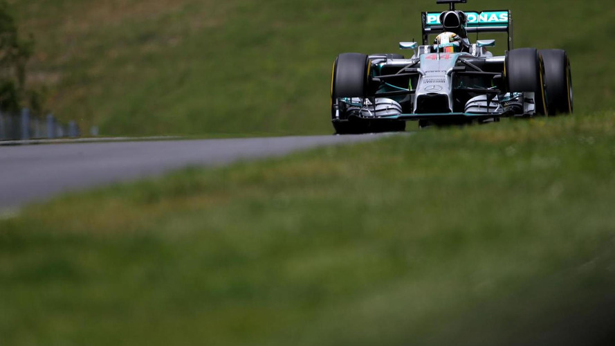 Mercedes driver needle heads into Silverstone