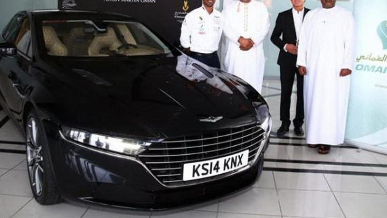 Aston Martin Slaps Massive Price Tag On Lagonda In UK - Aston martin lagonda price