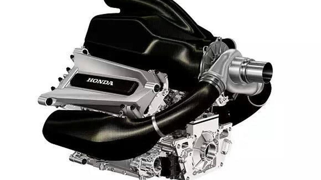 Honda 2015 F1 engine