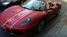 Ferrari F430 Spider delivery vehicle