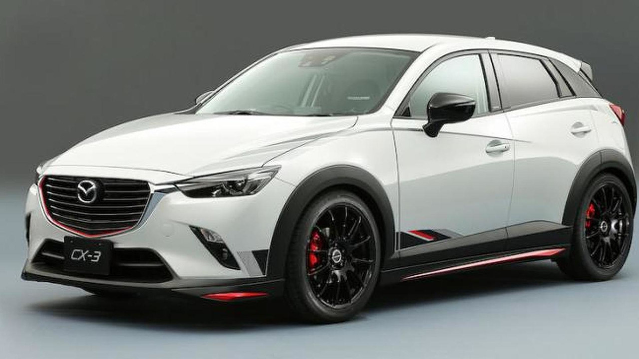Tuned Mazda Cx 3 For Tokyo Auto Salon 3 Of 13 Motor1 Com Photos