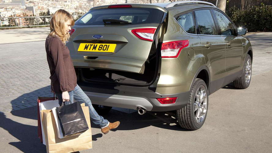 New 2013 Ford Kuga escapes to Geneva [videos]