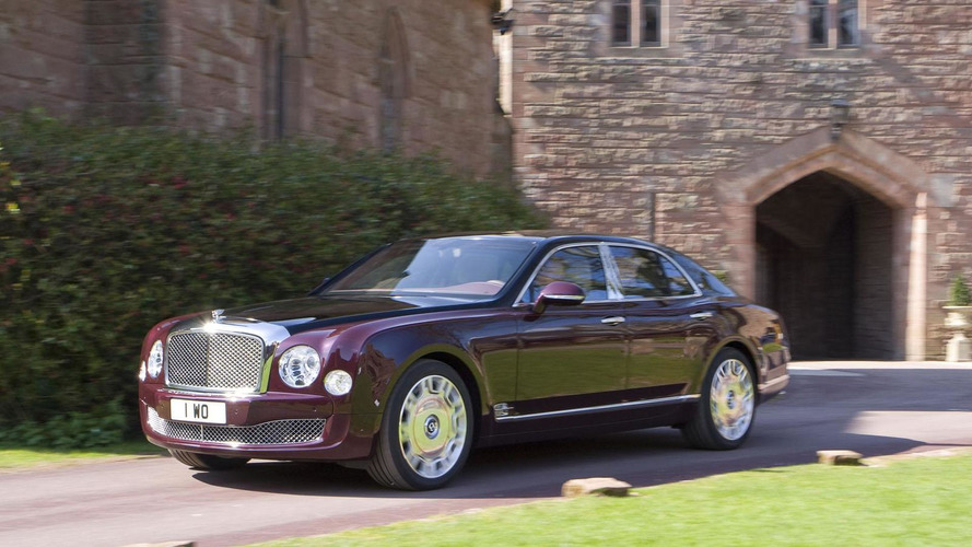 Bentley Mulsanne Diamond Jubilee edition announced