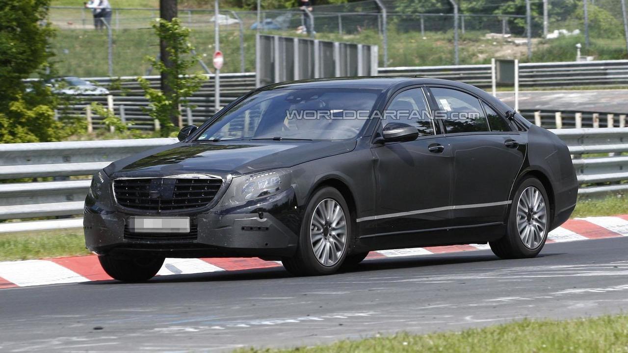 2013 Mercedes S-Class Spy Photo 23.5.2012