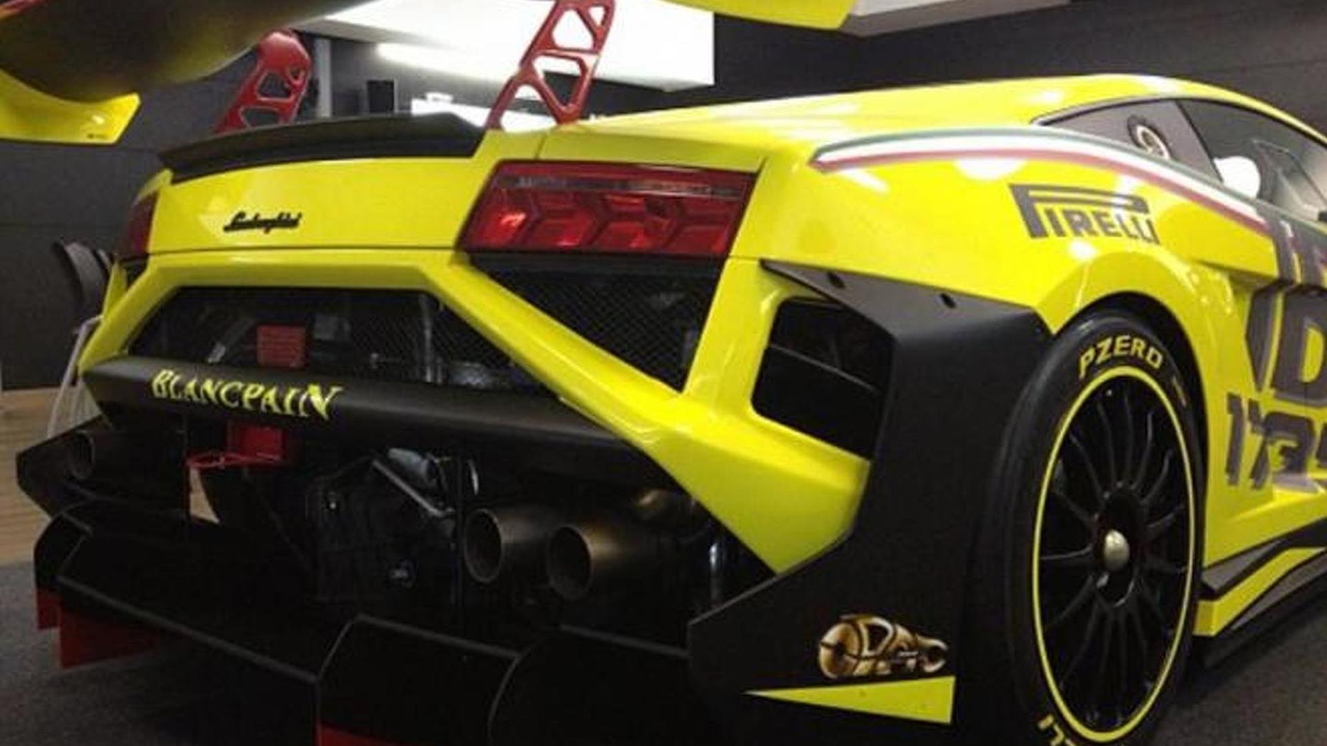 Official 2013 Lamborghini Gallardo Lp 570 4 Super Trofeo Breaks