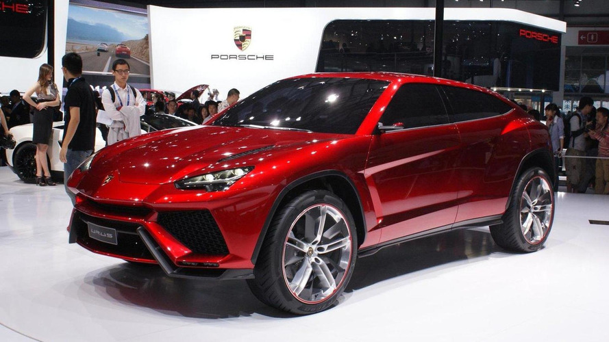 Lamborghini Urus confirmed for 2017 launch