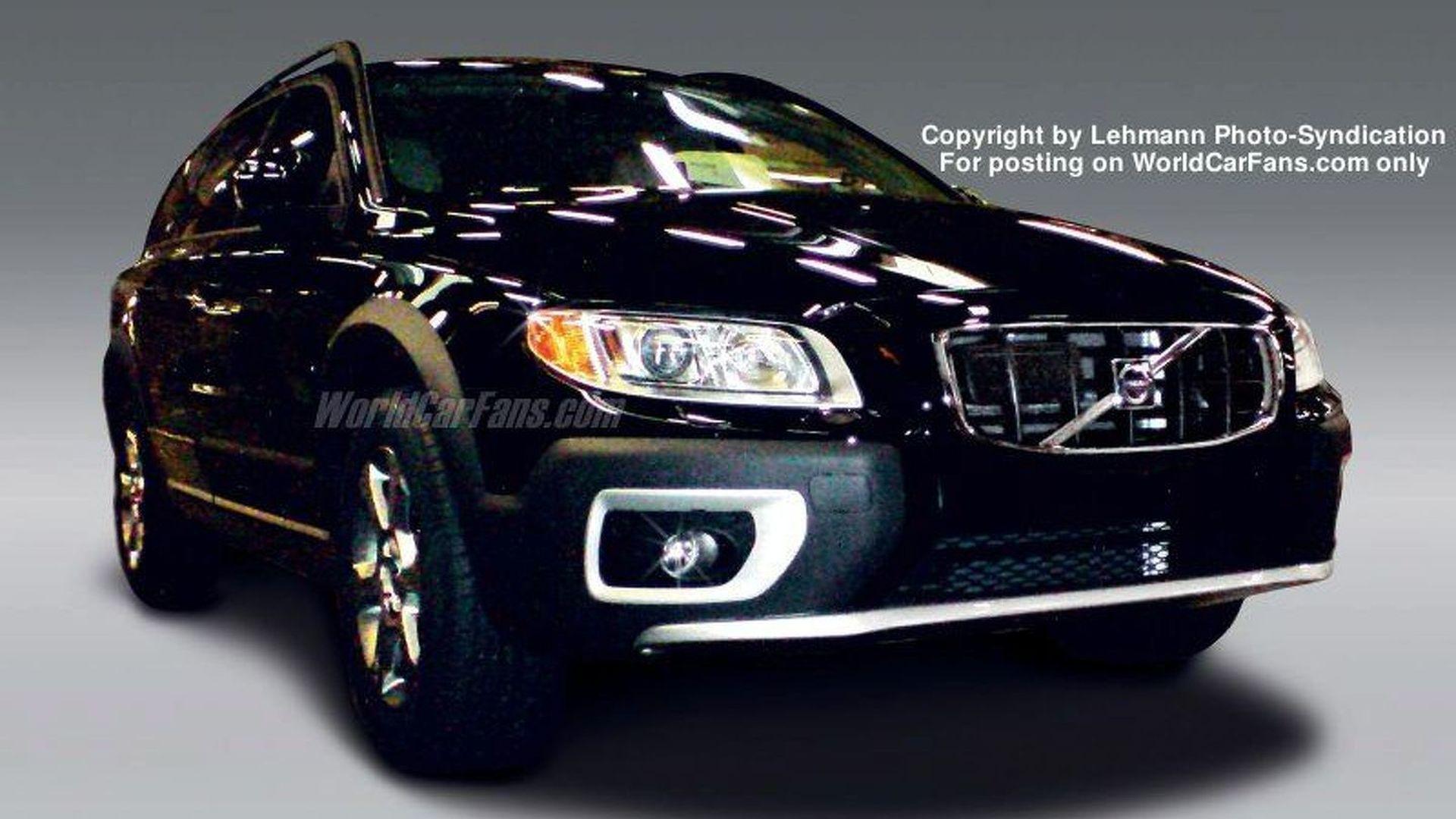 2020 Volvo XC70 Comeback News >> Spy Photos New Volvo Xc70 Undisguised
