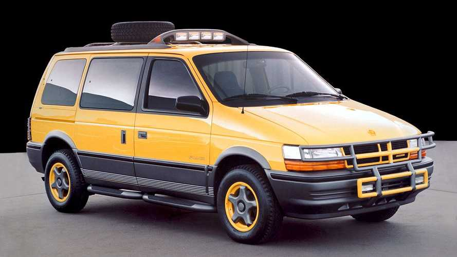 Dodge Caravan off-road concept