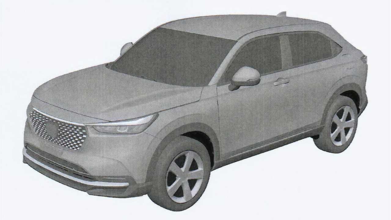 2021 Honda HR-V Sızıntı Patent Görüntüleri