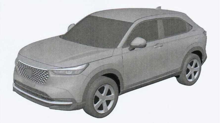 2022 Honda HR-V global model possibly leaked in patent images