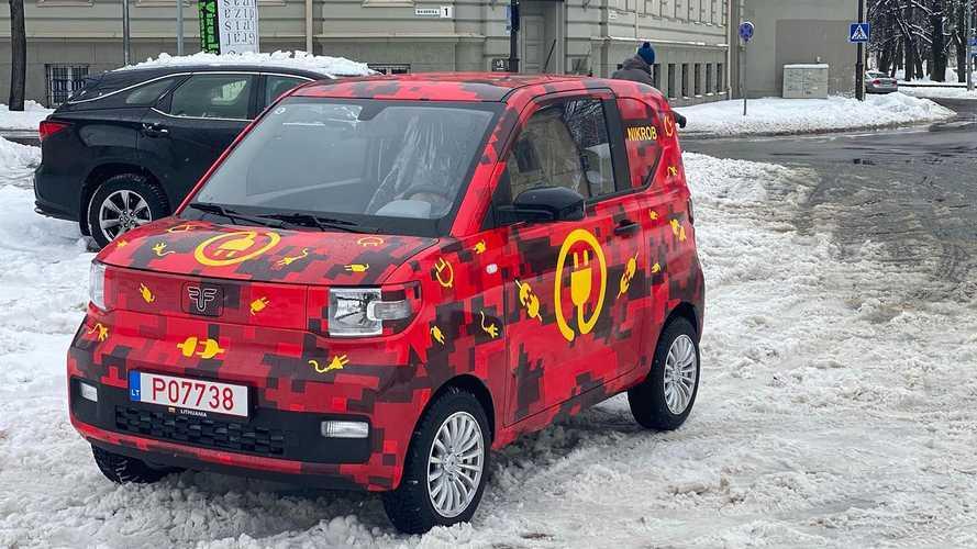 FreZe Nikrob EV: Winziges Elektromobil von Dartz für Europa