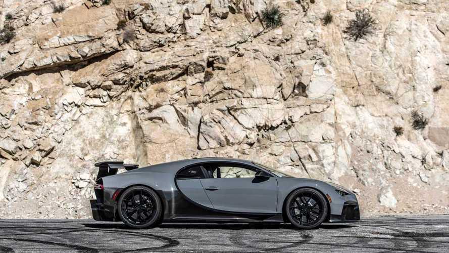 Bugatti Chiron Pur Sport, la prova