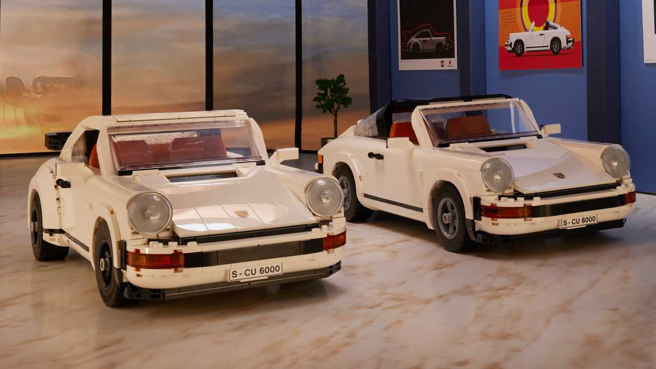 Lego Porsche 911 Turbo and Targa