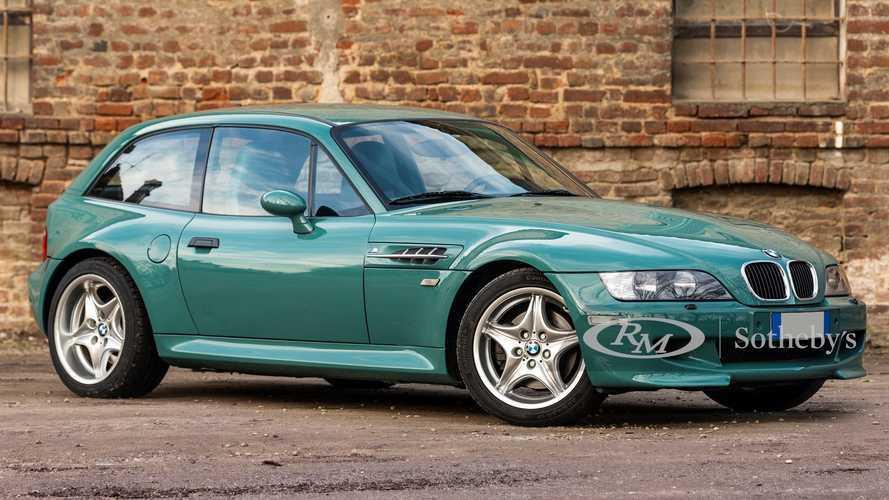 BMW Z3 M Coupé, in vendita all'asta un rarissimo esemplare