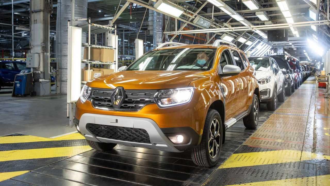 Новый Renault Duster на московском заводе