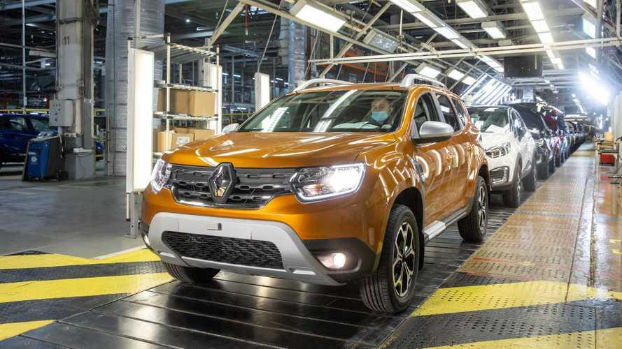 В России началось производство нового Renault Duster (16 фото)