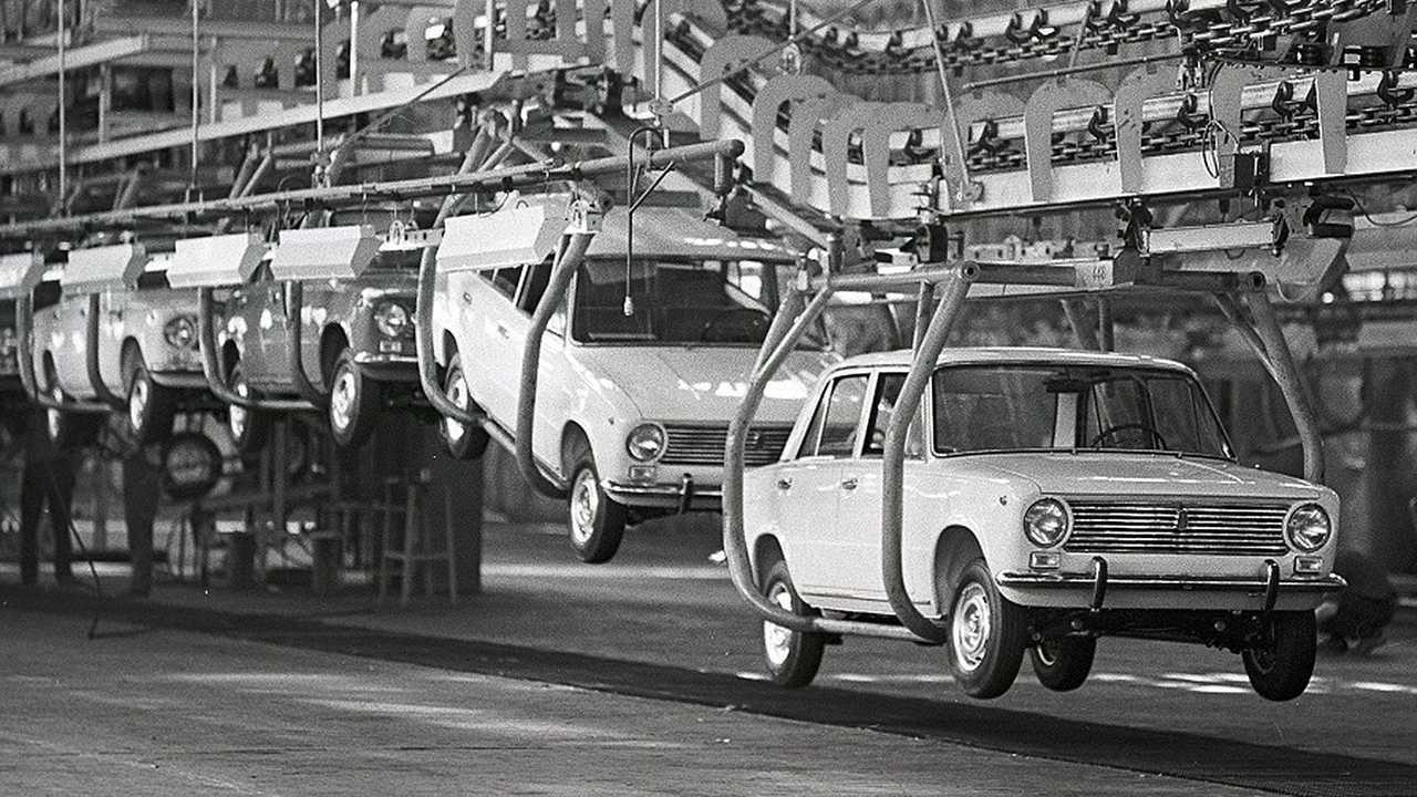 7. Lada Shiguli/VAZ 2101-2107/Fiat 124