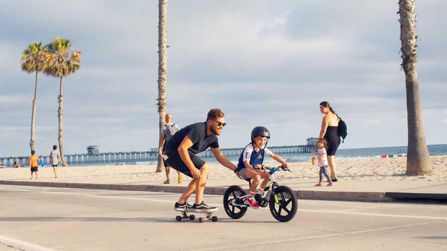 Start 'Em Young: Husqvarna Hooks Kids Early With New Balance Bikes
