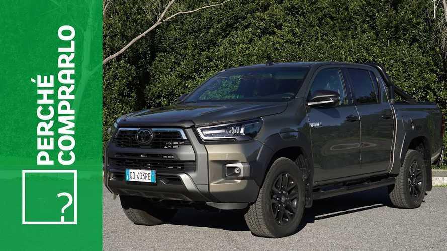 Toyota Hilux MY 2021, perché comprarlo... e perché no